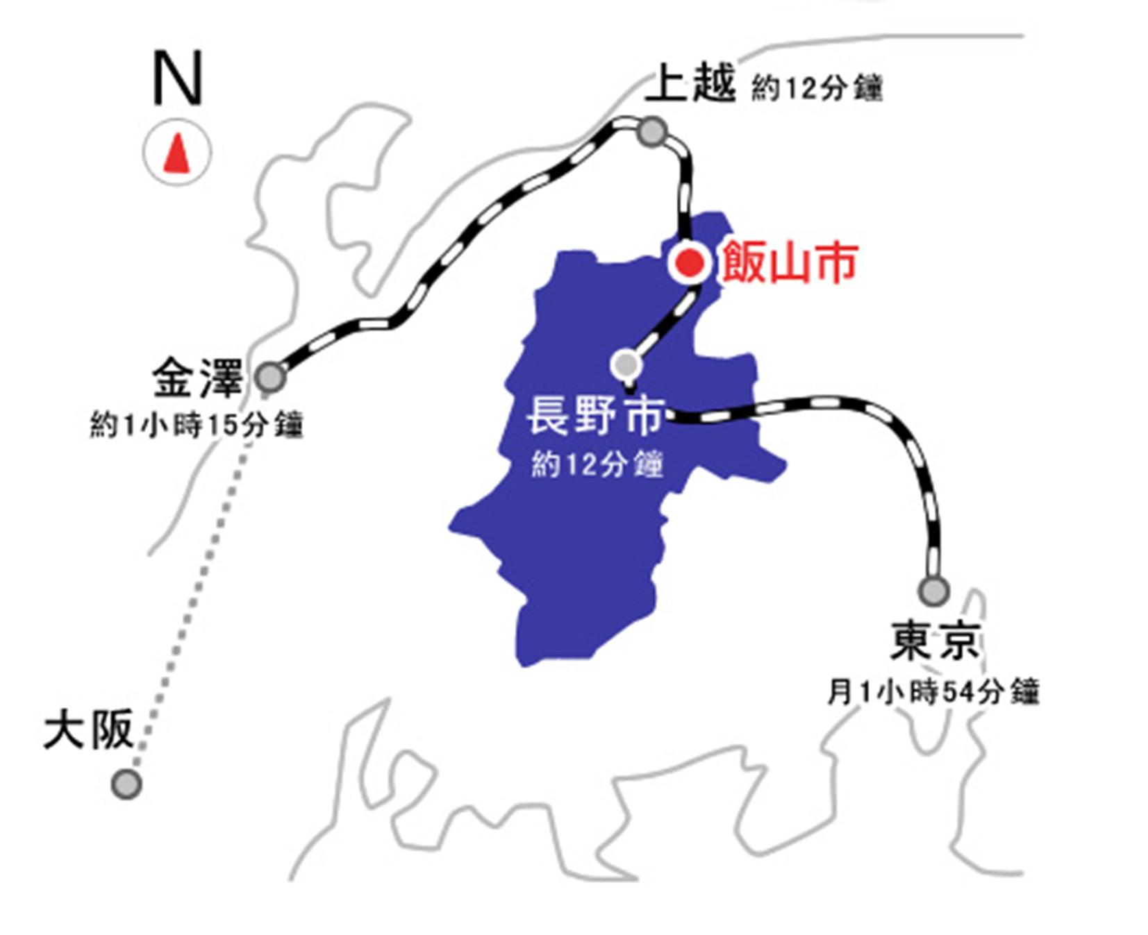 信州飯山觀光局-新幹線
