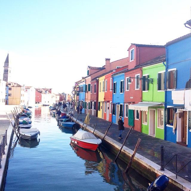 An island of Venice,Burano Italy.