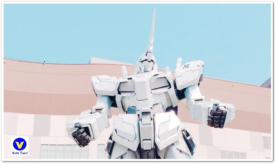 [東京.台場]2018年4月21日~5月6日限定!!「獨角獸鋼彈」燈光秀時間表